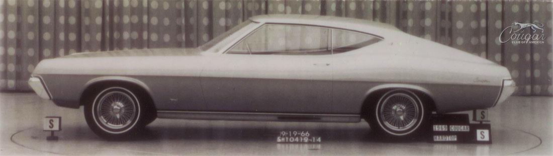 1969 Mercury Cougar Fastback