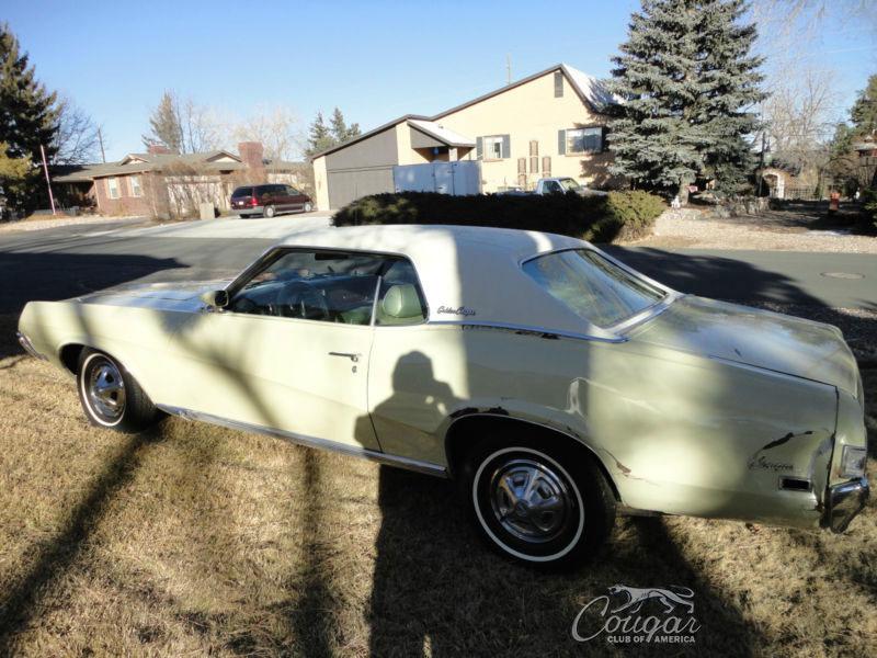 1969½ Golden Mercury Cougar