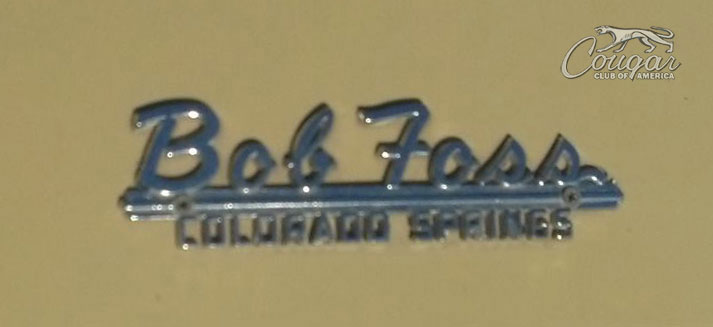 Bob Foss logo