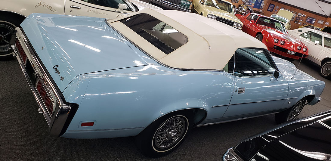 Last Convertible - 1973 Mercury Cougar XR-7 Convertible
