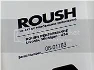 Roush Id Sticker