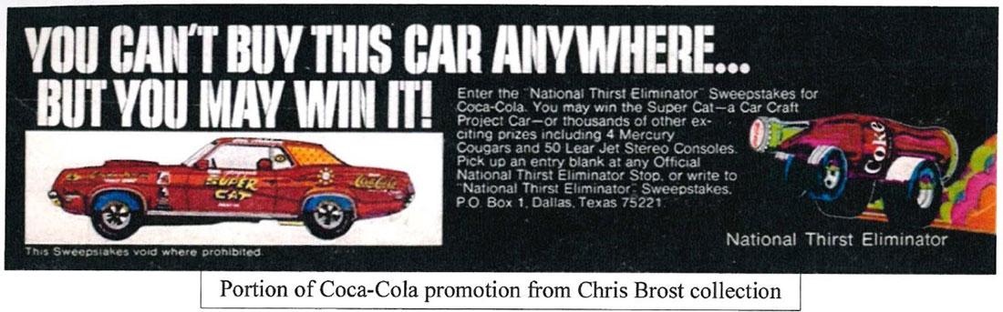 """1969 Mercury Cougar """"Super Cat"""" Ad"""