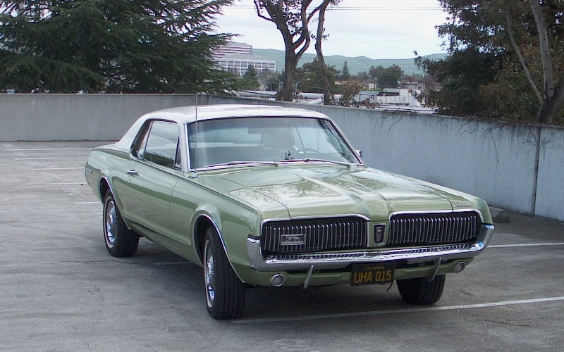 1967 Mercury Cougar Two-Tone Option