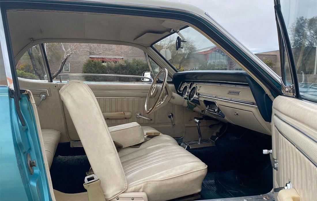 1967 Mercury Cougar Two-Tone Option Interior