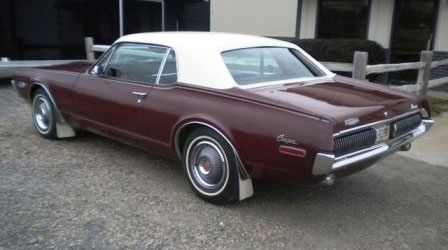 1968 Mercury Cougar Two-Tone Option