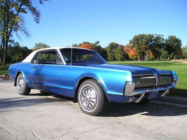 1967 Mercury Cougar Two-Tone