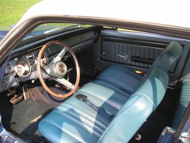 1967 Mercury Cougar Two-Tone Interior