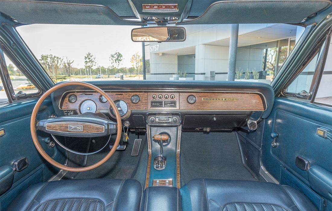 1968 Mercury Cougar XR7-G Interior