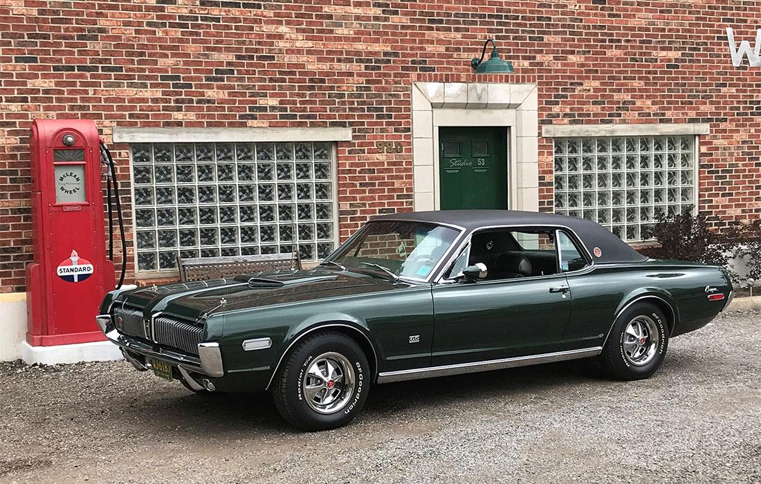 1968 Augusta Green Poly Mercury Cougar XR7-G