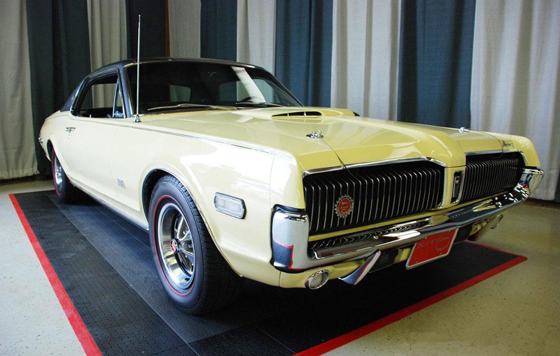 1968 Saxony Mercury Cougar XR7-G
