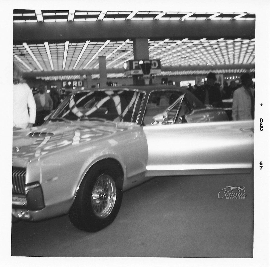 Mercury Cougar XR7-G Prototype @ 1967 Detroit Auto Show