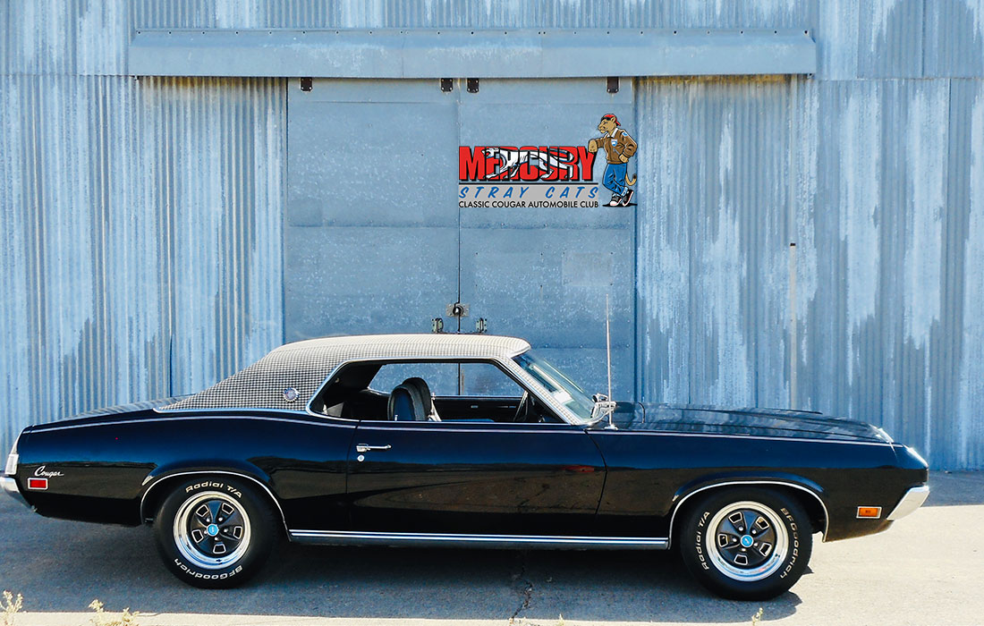 #09474 Eric Baverman 1970 Houndstooth Mercury Cougar XR-7