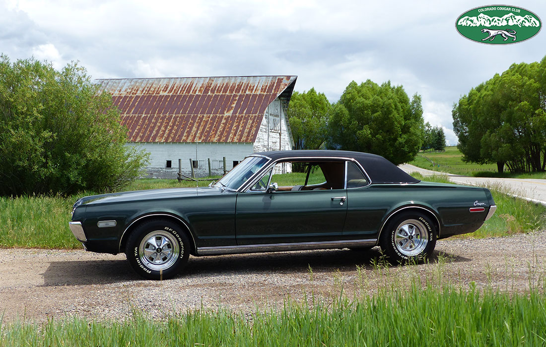 #10050 Jeff Hulse 1968 Mercury Cougar