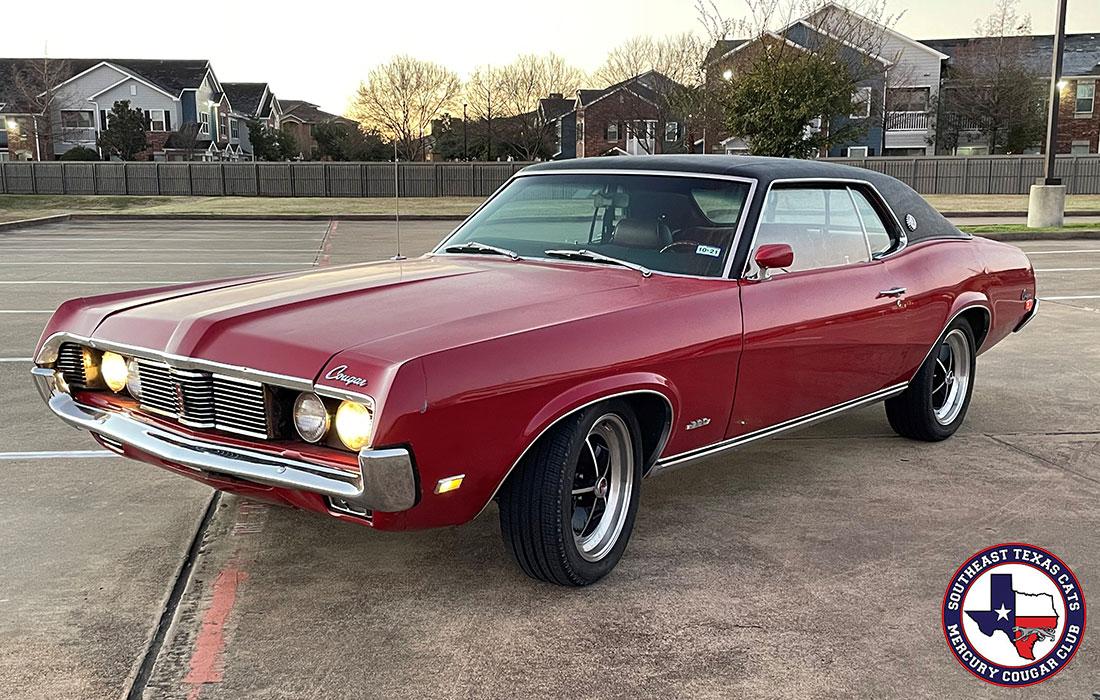 #10069 Paul Ford 1969 Mercury Cougar XR-7