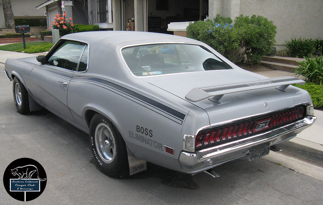 #10234 Harry Buehre 1970 Mercury Cougar Eliminator Boss 302