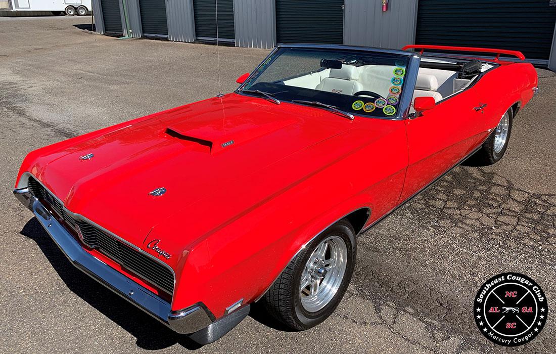 #10279 Phil Thomas 1969 Mercury Cougar XR-7 Convertible