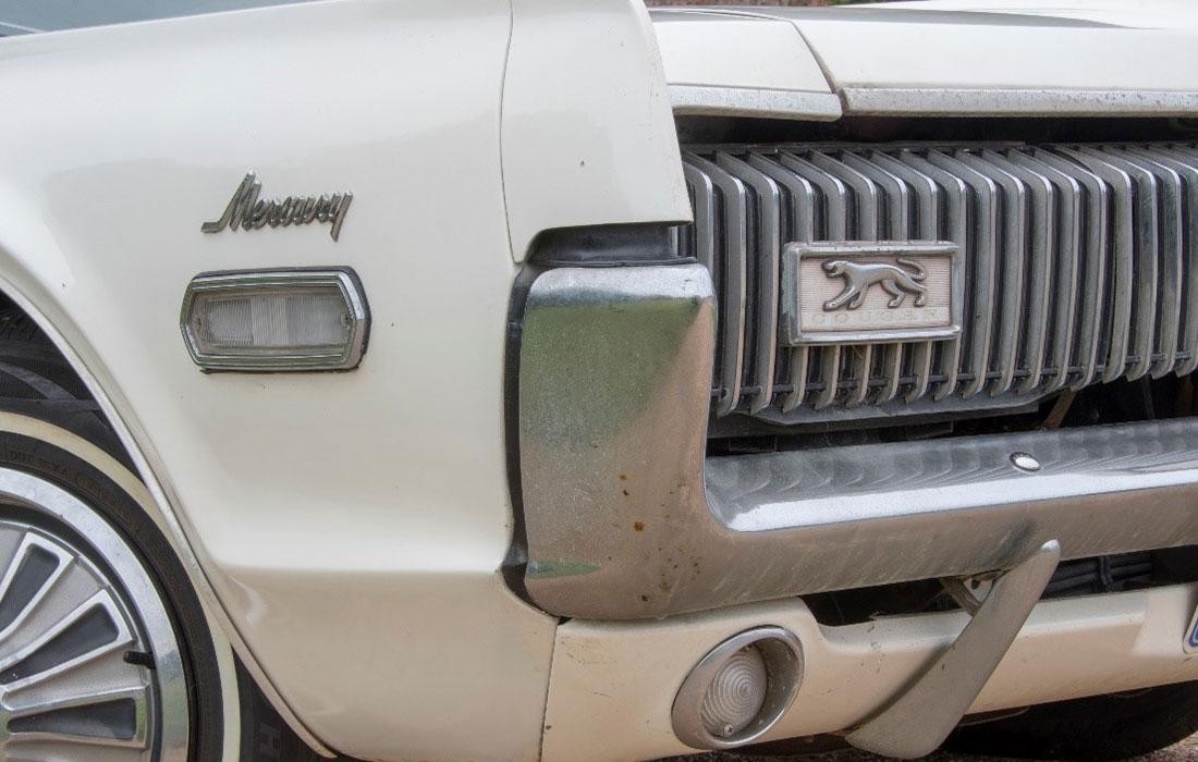 1968 Mercury Cougar 500 Badge