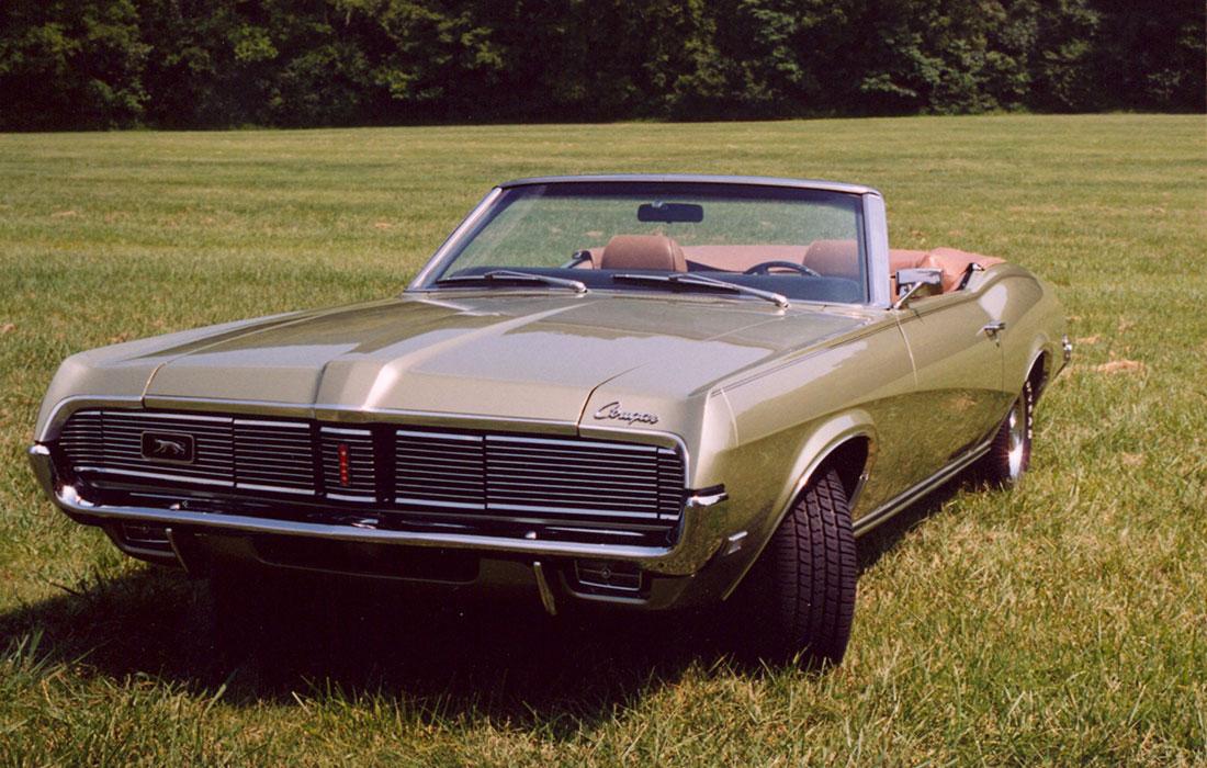 #1980 Bradley Dale 1969 Mercury Cougar Convertible