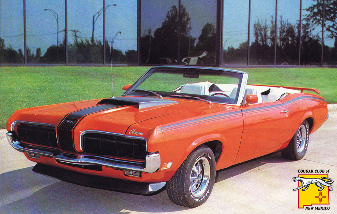 #55 Vic Yarberry 1970 Mercury Cougar Convertible Eliminator