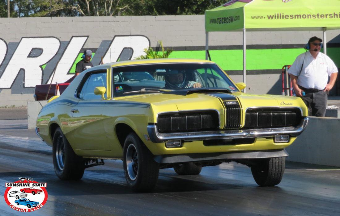 #7151 Phil Nancy Elder 1970 Mercury Cougar Eliminator