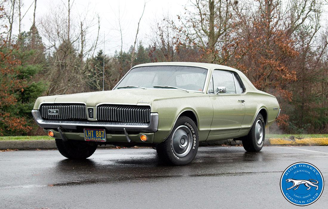 #8330 Brian Howson 1967 Mercury Cougar