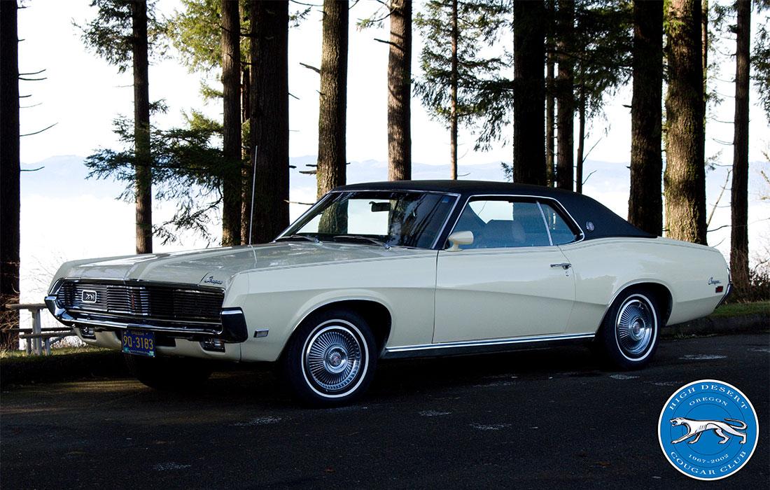#8330 Brian Howson 1969 Mercury Cougar XR-7