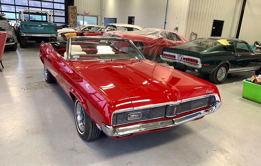 #8344 Susan Dodsworth 1969 Mercury Cougar XR-7 390 Convertible