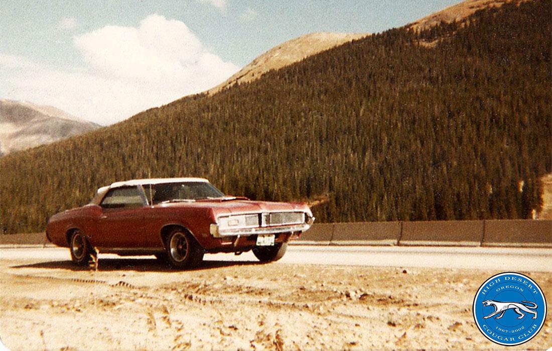 1969 Mercury Cougar XR-7 Convertible
