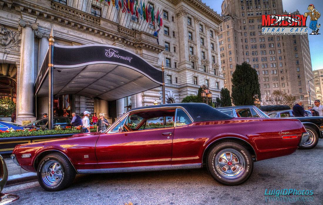#9187 Mark Smith 1968 Mercury Cougar XR-7 6.5 Litre