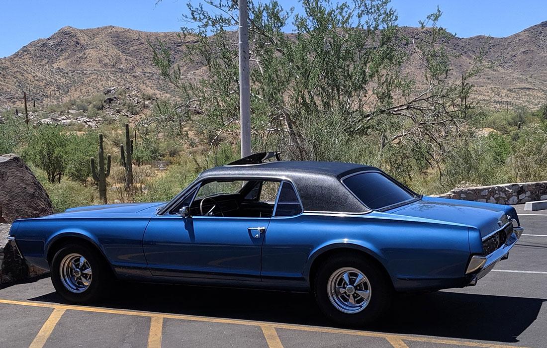 #9190 Dan James 1967 Mercury Cougar