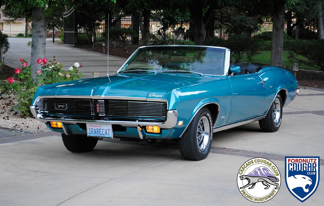 #9226 Zana & Stephen Goulding 1969 Mercury Cougar XR-7 390 Convertible
