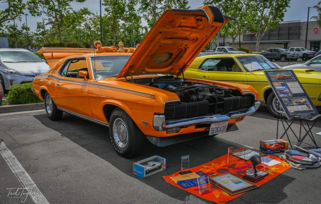 #9484 Robert Caplan 1970 Mercury Cougar Eliminator 428SCJ