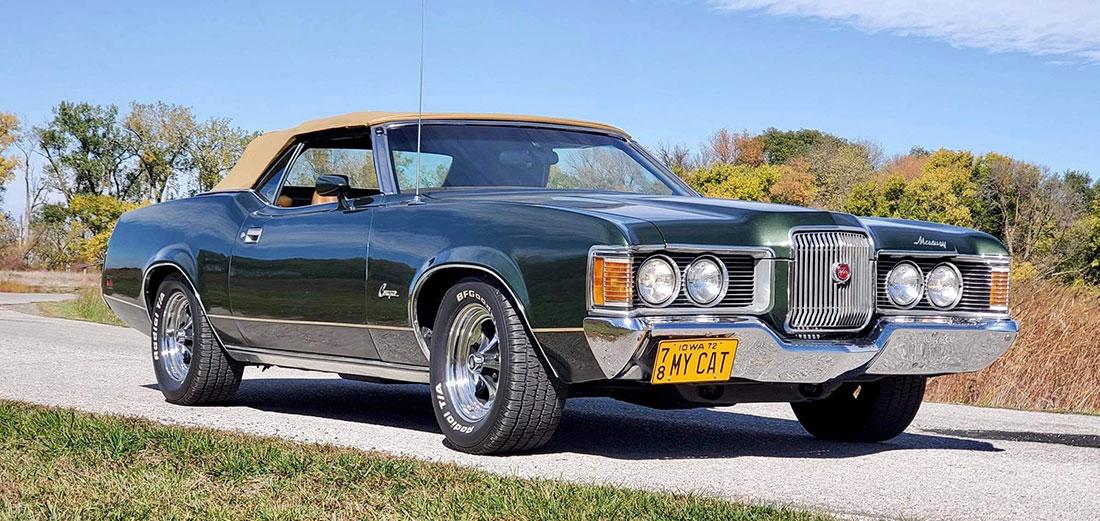 #9857 James Thomas 1972 Mercury Cougar XR-7 Convertible