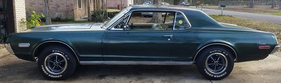 #9908 Ron Nash 1968 Mercury Cougar