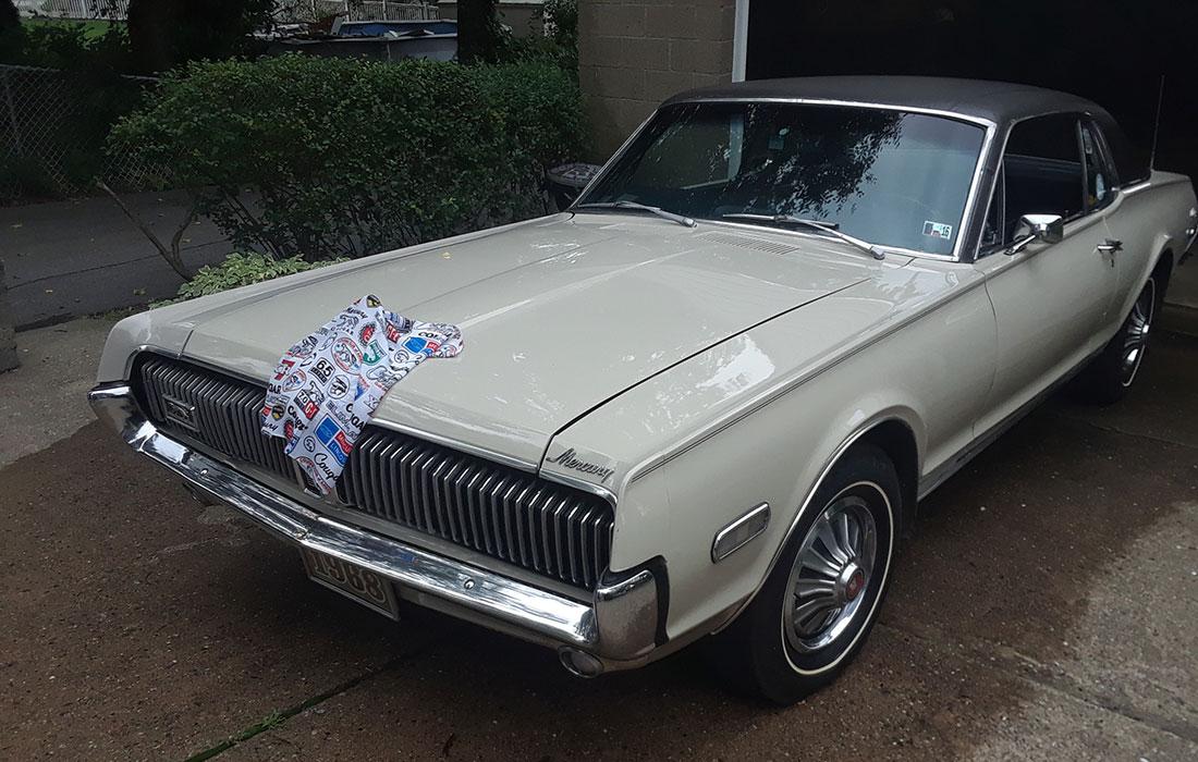1968 Fawn Mercury Cougar Dan Gurney Special