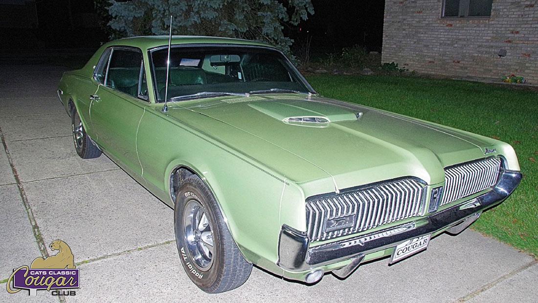 #10013 Steve Wienskowski 1967 Mercury Cougar XR-7 Dan Gurney Special