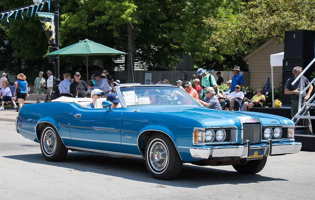 #9437 Ray Schmick 1973 Mercury Cougar XR-7 Convertible