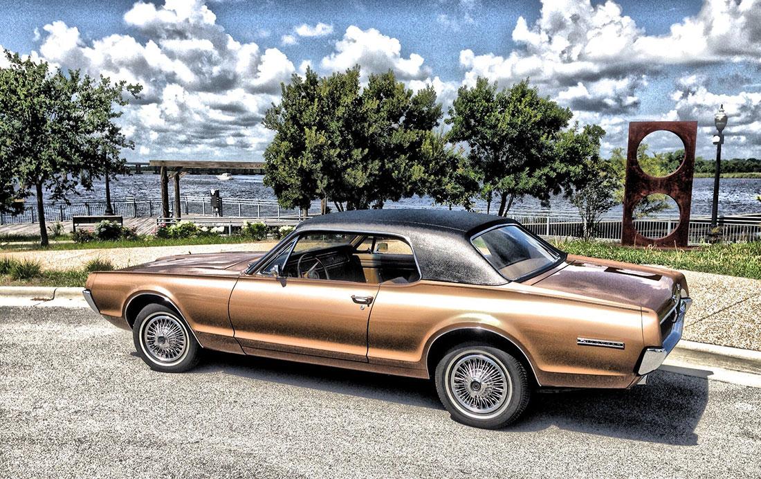 #10304 Dave Wood 1967 Mercury Cougar