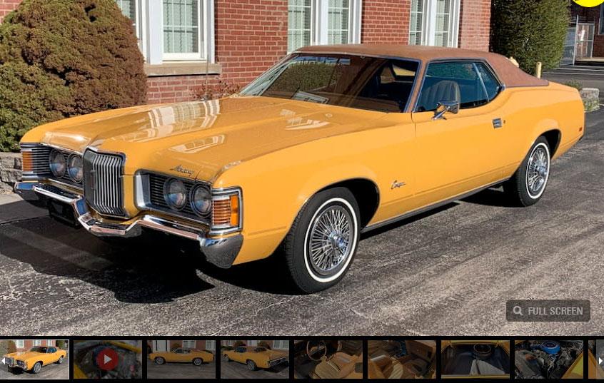 2021 Houston 1971 Mercury Cougar
