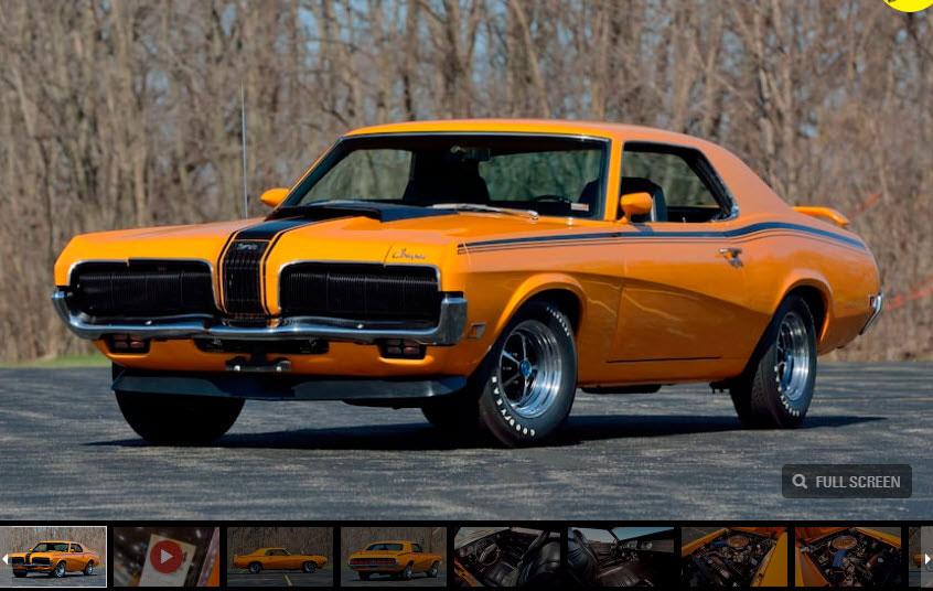 2021 Indy 1970 Mercury Cougar Boss 302 Eliminator