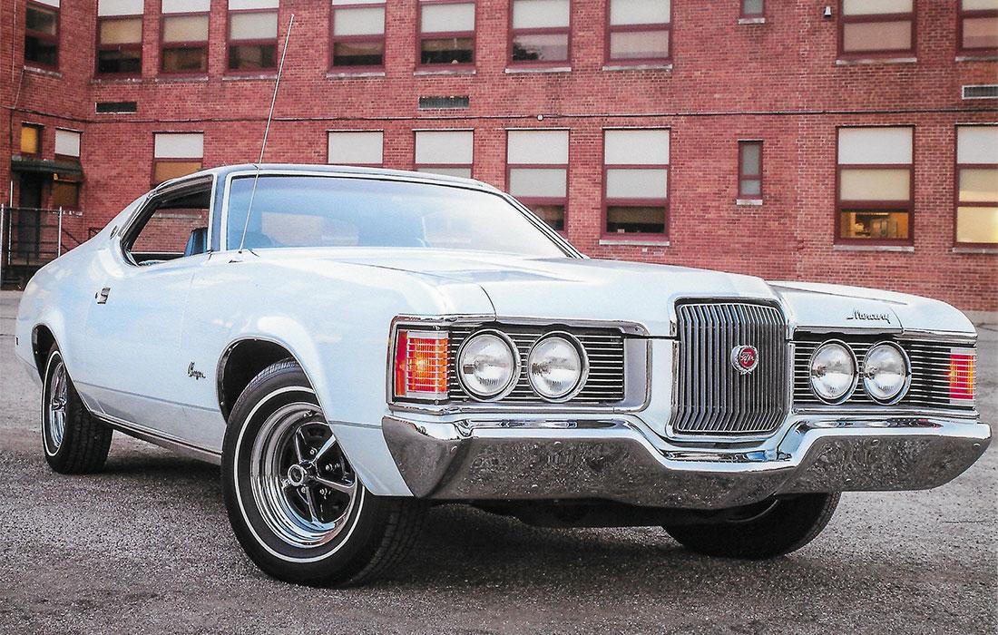 #10119 Ron Keister 1971 Mercury Cougar XR-7