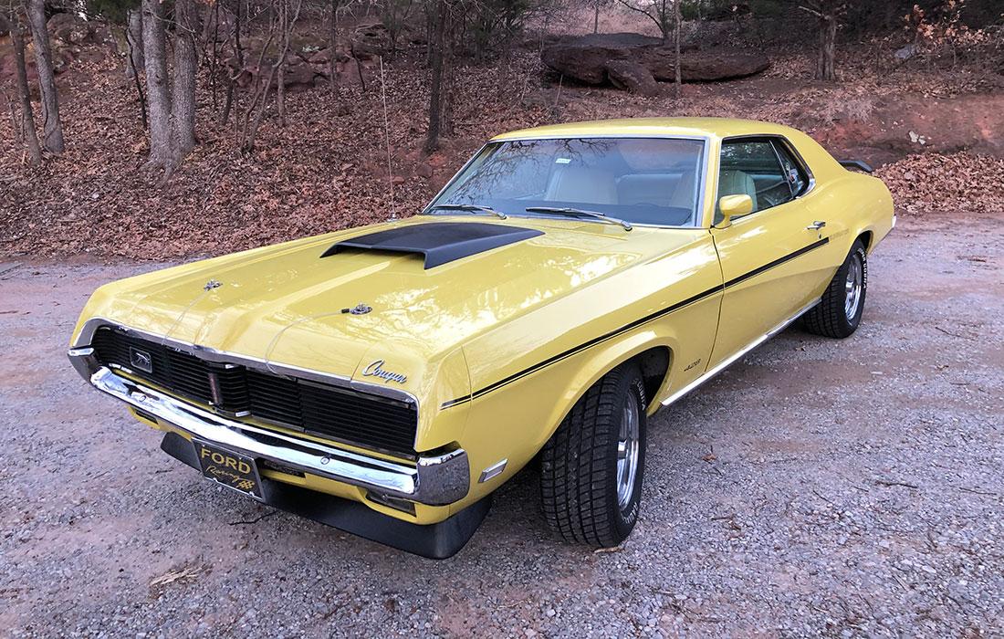 #10346 Jeff Allen 1969 Mercury Cougar Eliminator SCJ
