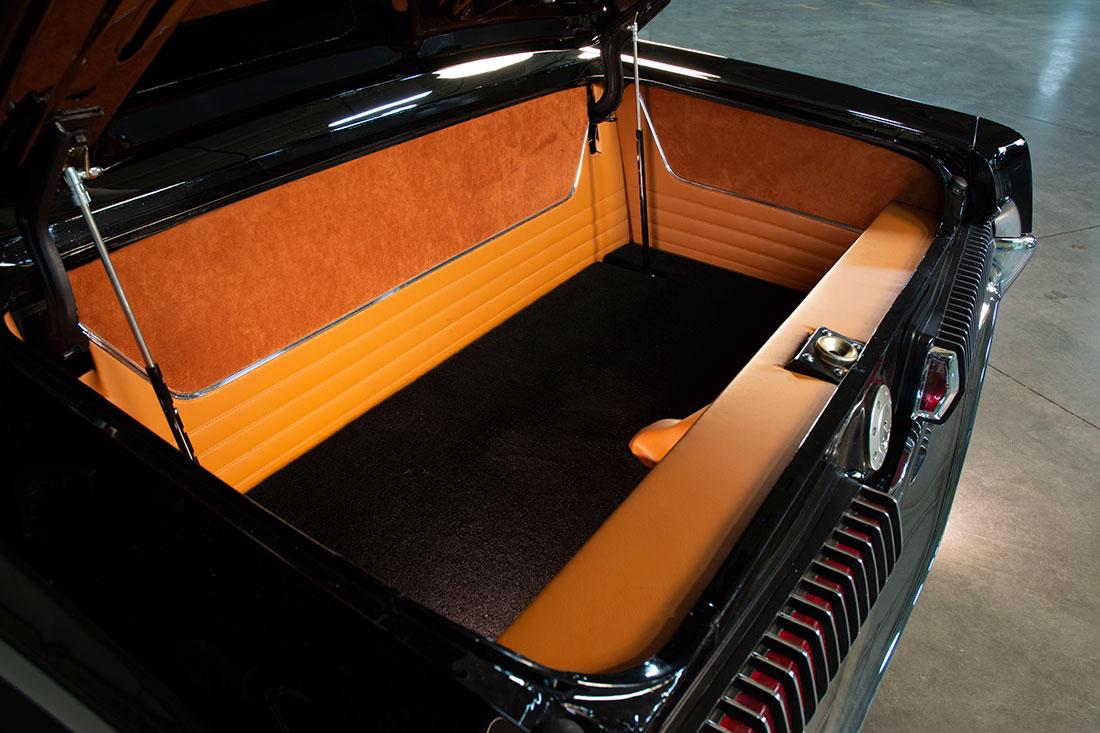 Stacey David's 1967 Mercury Cougar V8 Interceptor Trunk