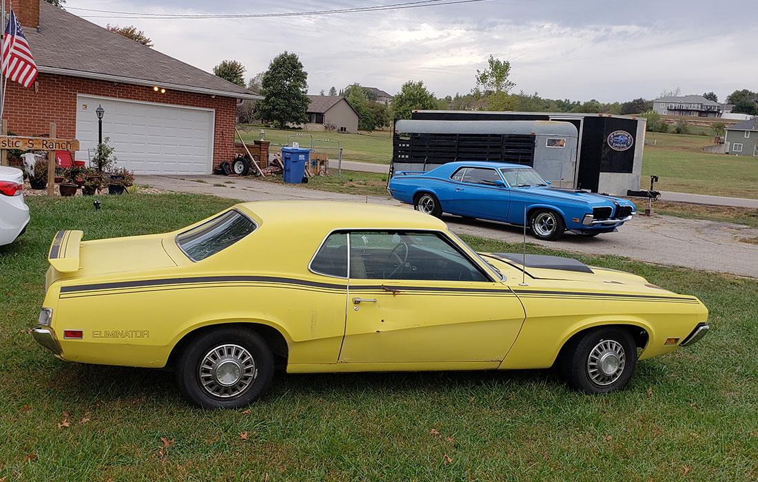 #10086 Dean & Shannon Snepp 1970 Mercury Cougar Eliminator