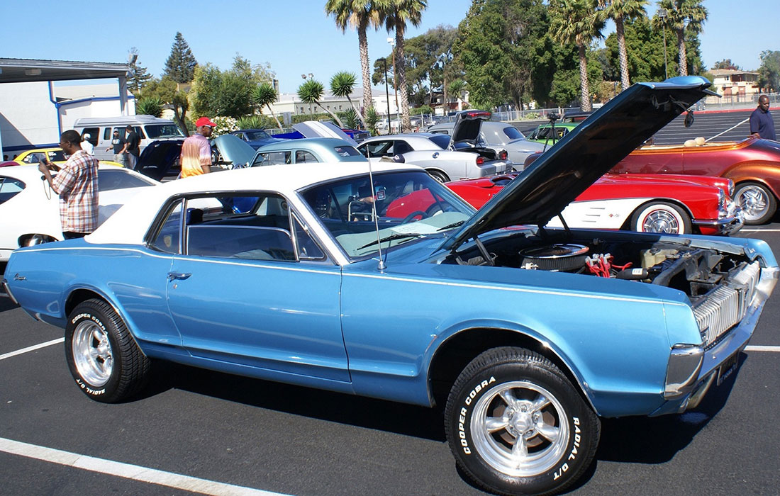 #10347 Bryan Atkins 1967 Mercury Cougar
