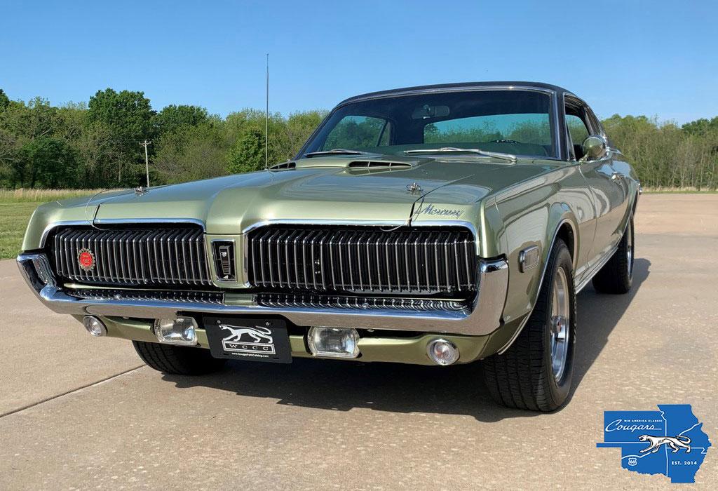 #10350 Mike Denney 1968 Mercury Cougar XR7-G