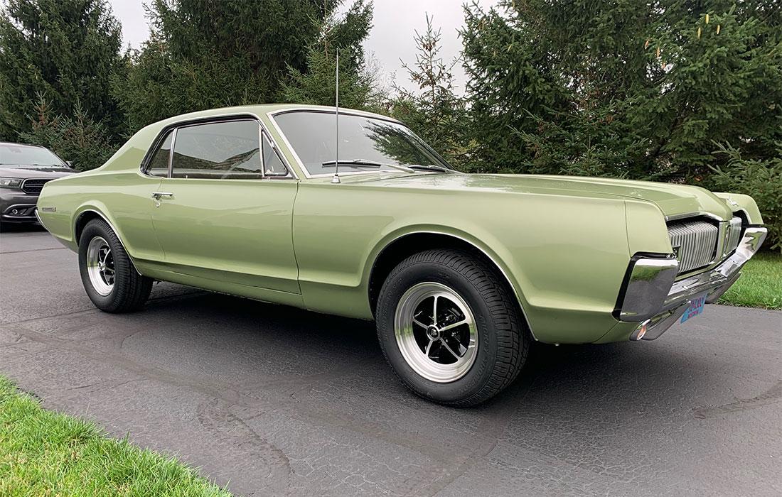#10391 Anthony Schutte 1967 Mercury Cougar