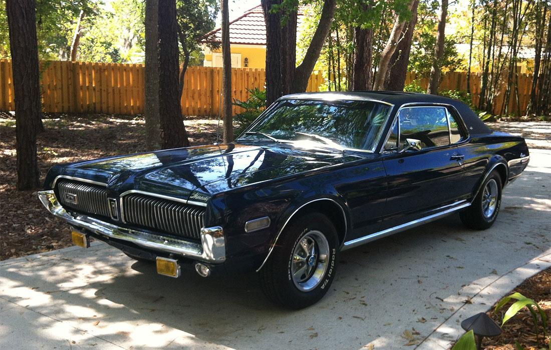 #8291 Barry Stevens 1968 Mercury Cougar XR-7