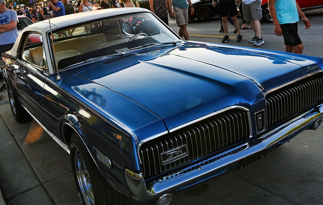 #9618 Michael Bernabei 1968 Mercury Cougar