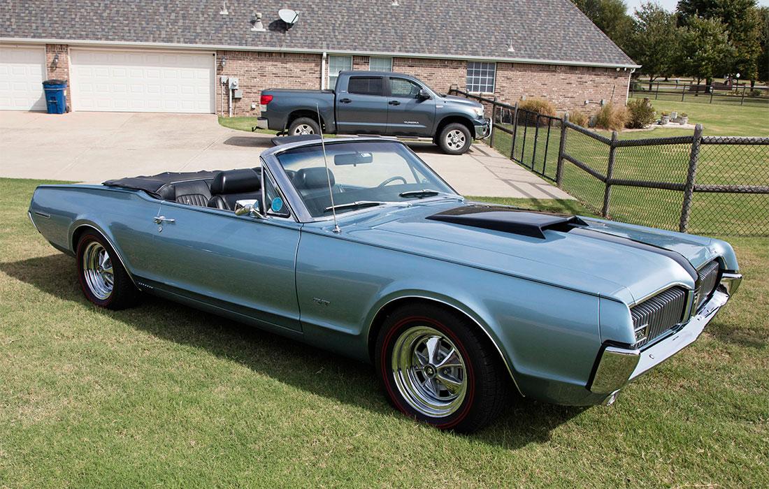 #9860 Floyd Brown 1967 Mercury Cougar XR-7 GT Convertible